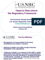 Slides_Why Risk Inform the Reg Framework