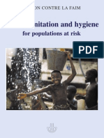 ACF Water Sanitation Hygiene for Populations at Risk