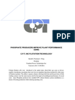 Phosphate Flotation With EFD Columns