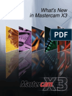 What's New in Mastercam X3