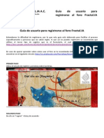 Guía de usuario para registrarse al foro Fractal.IA