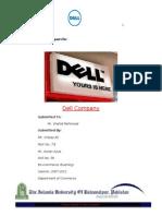 54192372 Report on Dell Company