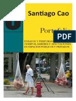 Portafolio de Santiago Cao (versión en español)