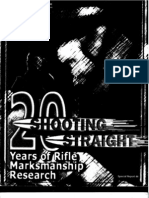 20 Years of Marksmanship Research