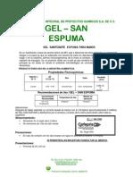 ABC Boletin - Gel - San Espuma (Gel Sanitizante Espuma Para Manos)