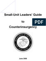 Small-unit Leaders' Guide to Counterinsurgency