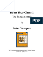 Boost Your Chess 1 - The Fundamentals by Artur Yusupov