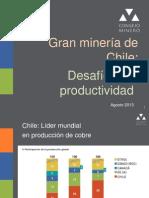 1 Consejo Minero Competitividad y Productividad - JV Agosto 2013 REV0