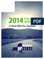 Unshackle Upstate 2014 Policy Agenda