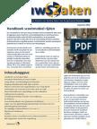 Infoblad Nieuwszaken voor klanten van de van Sociale zaken van de gemeente Boxmeer
