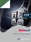 Metasol Contactors Overload Relays