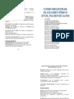 Libro Registro del examen físico