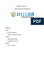 User Manual Fingerprint Silicon