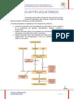 Práctica - Fármacos antiplaquetarios