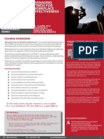 Stress Management at the Workplace 13 - 14 April 2014 Dubai UAE