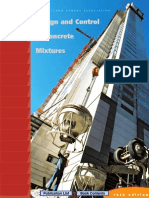 Design and Control of Concrete Mixtures, 14th Ed