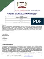 ERNESTO_CORREA_1 Habitos Saludables Para Musicos
