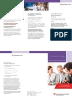 ZAV Managementvermittlung Flyer