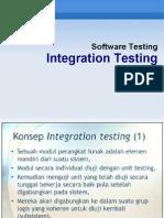 SoftTest - 07 Integration Testing