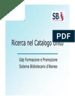 Guida Catalogo
