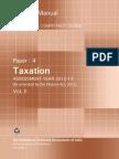 Taxation Vol. II