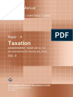 Taxation Vol. II