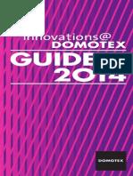 DOMOTEX 2014 InnovationsGuide Web