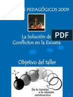 La Solución de Conflictos en la escuela