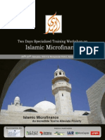 Two Days Specialized Training Workshop on Islamic Microfinance