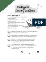 Indigo's Blueberry Muffins