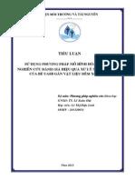 tieu luan PPNCKH - Lê Thị Diệu Linh