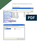 3ways to Remove Windows XP Saved Network Password