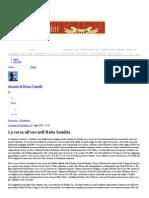 La Corsa All'Oro Nell'Italia Saudita - Dynamo