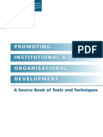 Sourcebook Institutional Development