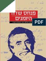 פנחס שדה - היומנים / קורן יהודה ונגב אילת