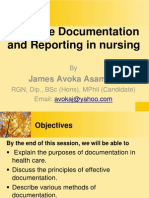 Nursing Documentation and Reporting