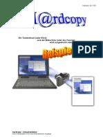 Anleitung Hardcopy