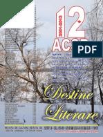 Destine Literare Dec. 2013