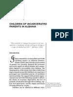 Juliana AJDINI CHILDREN OF INCARCERATED PARENTS IN ALBANIA