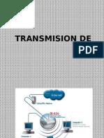 Transmición de datos