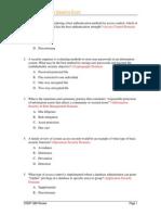 CISSP Baseline Exam V5.5