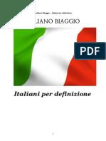 Italiani Per Definizione