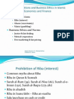 Ch 3 - Main Prohibits n Bus Ethics