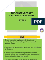 Overview of Contemp Lit for Children - Short Story Y4 050413