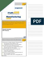 2. SAP Supplier Network Planning (SNP)26125069