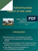 Brain Actinomycosis