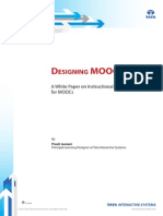 Designing MOOCs - A White Paper on ID for MOOCs