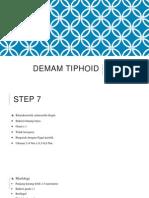 DEMAM TIPHOID