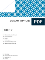DEMAM TIPHOID