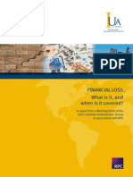 FINANCIAL LOSS. What is It, And When is It Covered (1)